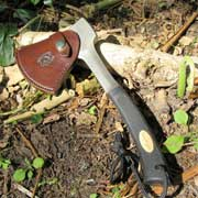 hatchet sheath hand made leatherwork