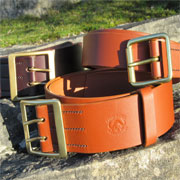 hunters belt quality leather product